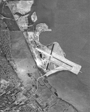 Imatge de l'aeroport de San Francisco (Satèl·lit) (any 1946)
